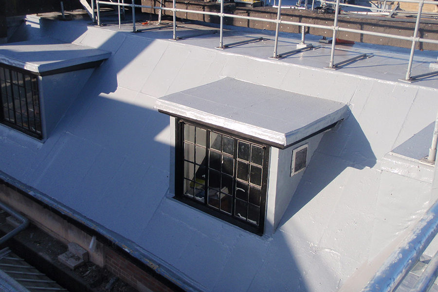 BBR liquid applied roofing
