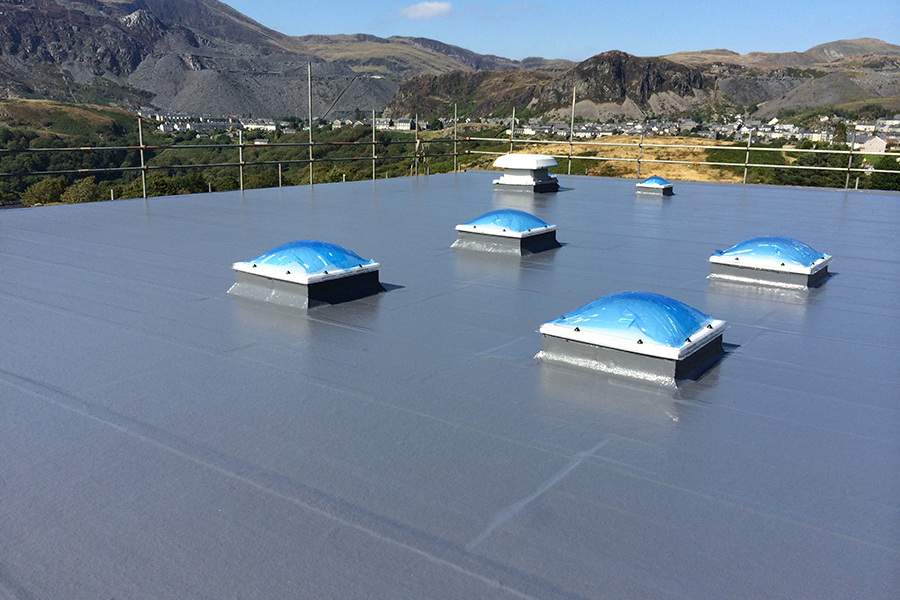 BBR single ply roofing