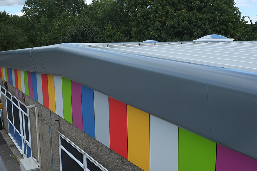 Flat to pitched roofing 7