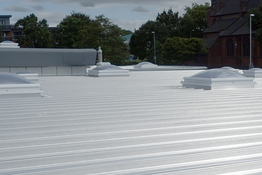 Flat to pitched roofing 8