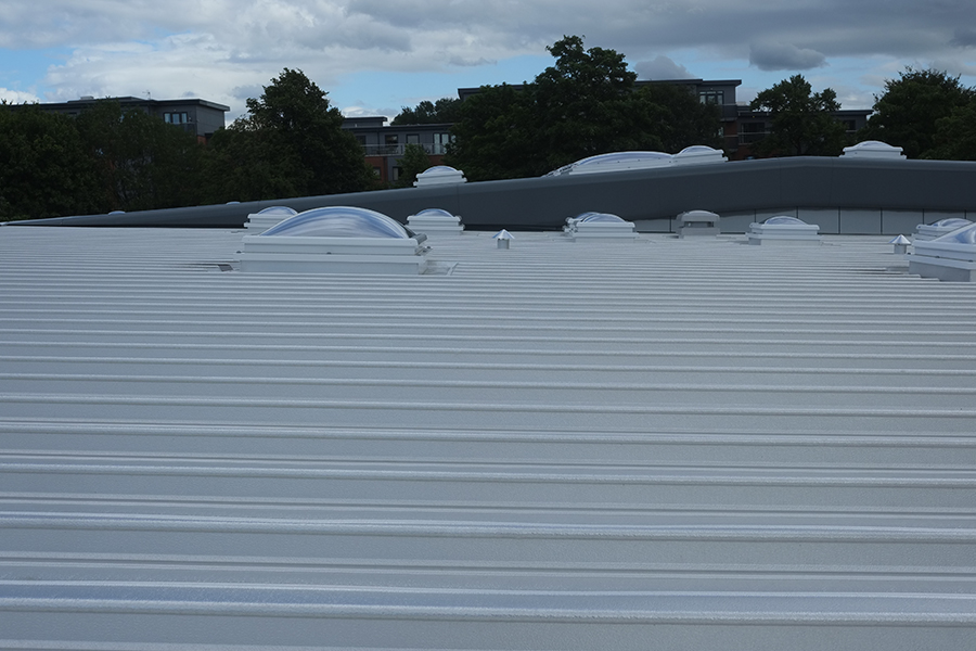 Flat to pitched roofing 9