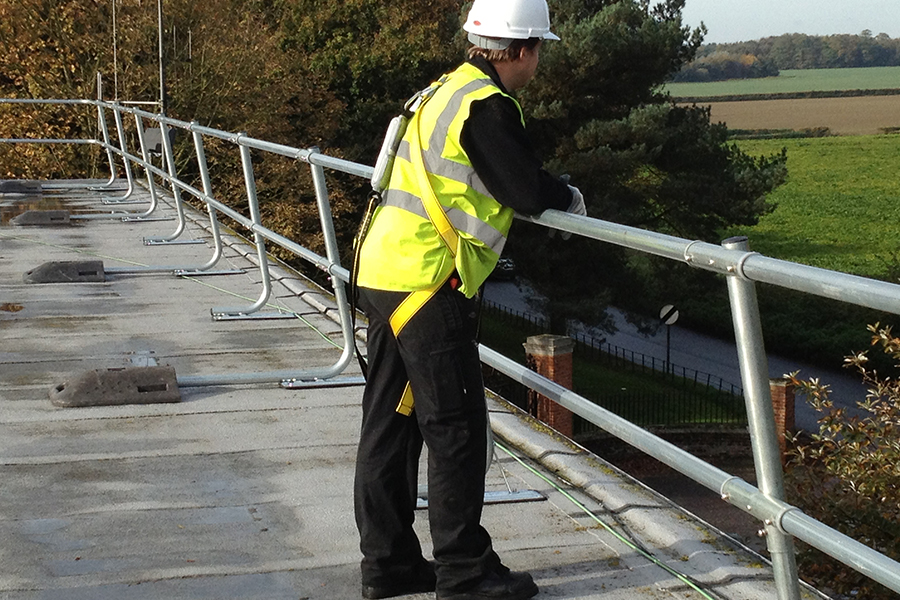 BBR Roofing Guardrail Systems 1