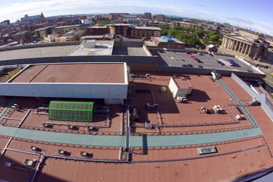 St John S Shopping Centre Liverpool Bbr Roofing
