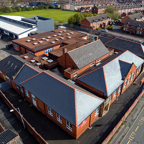 Half Acres Primary School BBR Roofing